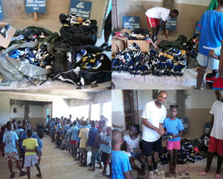 Campers get shoes