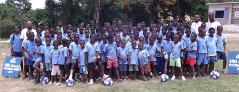 Soccer camp 2011 group pic